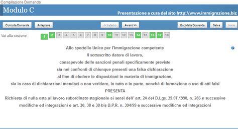 Ministero Dell Interno Sportello Unico Per L Immigrazione Immigrazione Biz Flussi 2012 Ecco Una Guida Per
