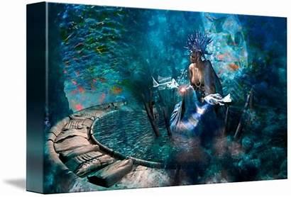 Yemaya Orishas Goddess Sea Ocean Moon Danilo