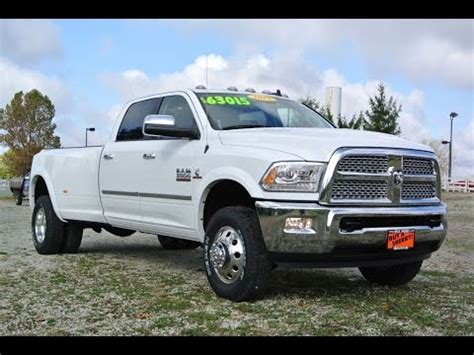 2015 dodge ram dually 2015 ram 3500 laramie cummins dually for sale dayton troy piqua sidney ohio 27173t youtube