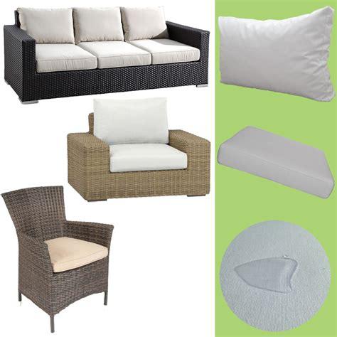 Polster für Lounge Gartenmöbel Sitzkissen Auflage 50x60