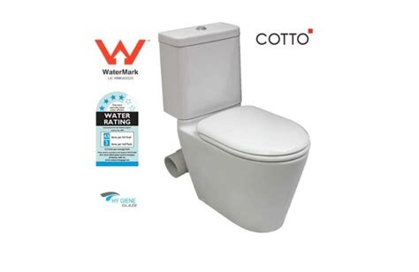 Cotto Water Closet by Wels Bathroom Cotto Coupled Skew Pan Toilet Suite