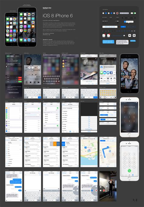 ios  gui psd  iphone  graphicburger