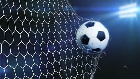 football  slowly flying   goal  night sky