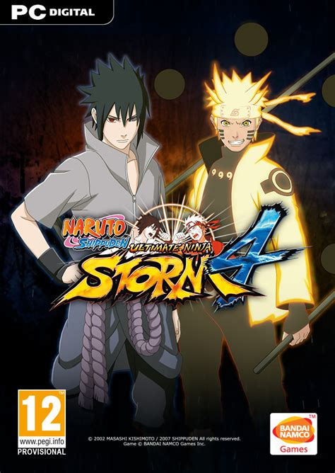 naruto ultimate ninja storm  images officielles naruto