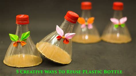 Ideas Using Plastic Bottles by 5 Creative Ways To Reuse And Recycle Plastic Bottles
