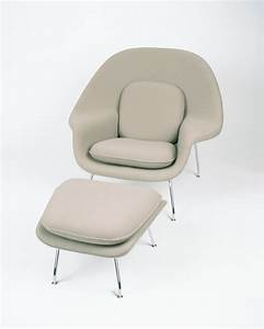 Saarinen Womb Chair  U0026 Ottoman