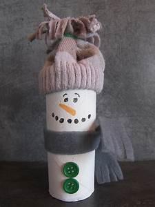 Bricolage A Faire Avec Des Petit : bricolage bonhomme de neige ~ Melissatoandfro.com Idées de Décoration