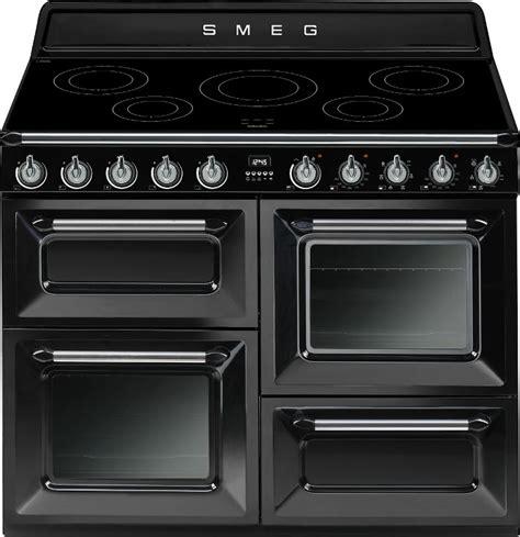 piano cuisine smeg buy smeg tr4110ibl 110cm electric range cooker