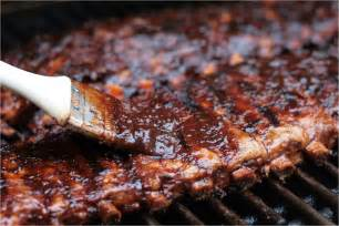 Slab of Ribs On Grill