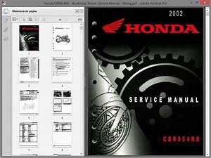 Honda Cbr954rr Fireblade Service Manual