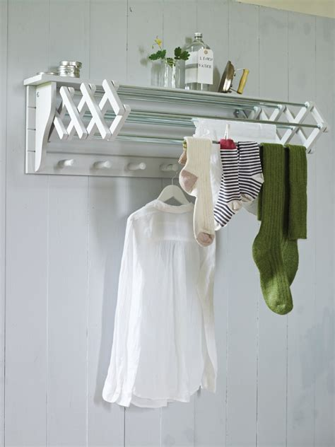 wall mounted drying rack homesfeed