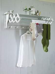 Useful, Wall, Mounted, Drying, Rack, U2013, Homesfeed