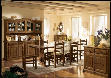 arredamenti rustici soggiorno arredato con mobili rustici in pino produzione