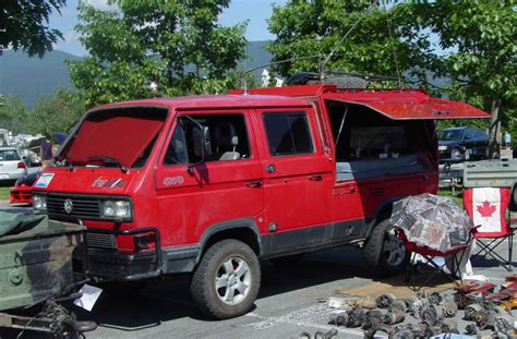 unique double cab vanagon syncro work truck vanagon