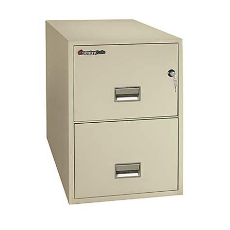 Safe File Cabinet 2 Drawer by Sentrysafe Safe 2 Drawer Vertical File Cabinet 27 916