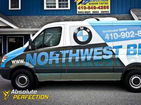 northwest bmw van wrap owings mills