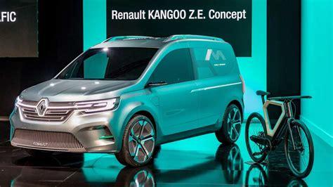 renault presents  electric kangoo ze concept van