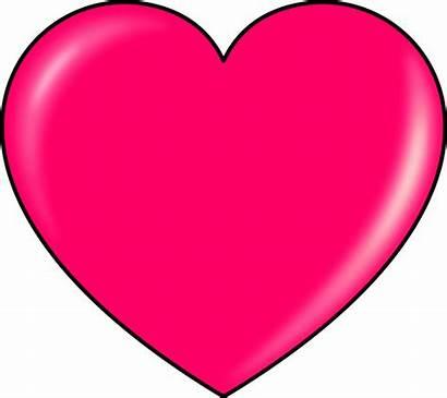 Heart Pink Clip Onlinelabels Svg