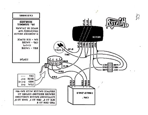 ceiling fan capacitor wiring diagram