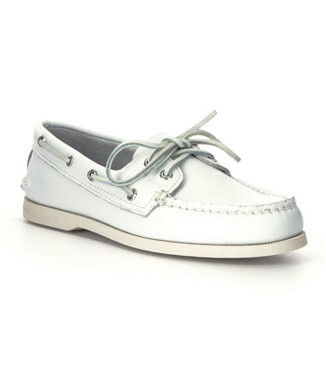 White Sperry Boat Shoes by Sperry Top Sider S Authentic Original Boat Shoes In