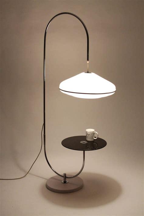 Unique Table  Lamp Minimalist Modern Vintage Mid Century 1970