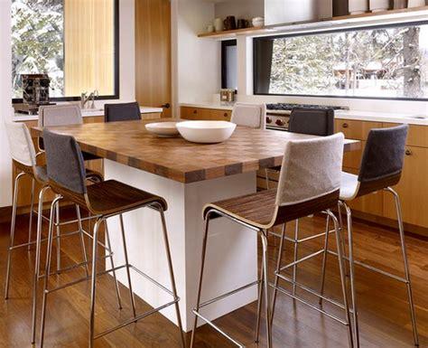 ilot cuisine table cuisine ilot central deco maison moderne