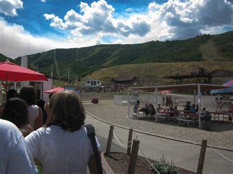 summer alpine slide at park city mountain resort