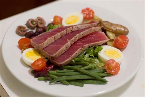 cuisine nicoise niçoise salad recipe dishmaps