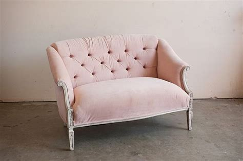 pink settee 11 room changing blush colored chairs