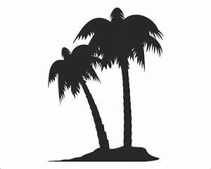 Palme Schwarz Weiß : wandtattoo palmen insel ~ Eleganceandgraceweddings.com Haus und Dekorationen