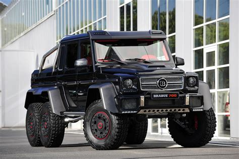 Brabus Modifies The G 63 Amg 6x6 Because They Can