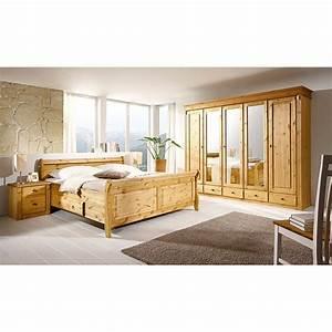 Schlafzimmer Set Massivholz : schlafzimmer set cenan iii 4 teilig kiefer massiv gebeizt lackiert ~ Markanthonyermac.com Haus und Dekorationen