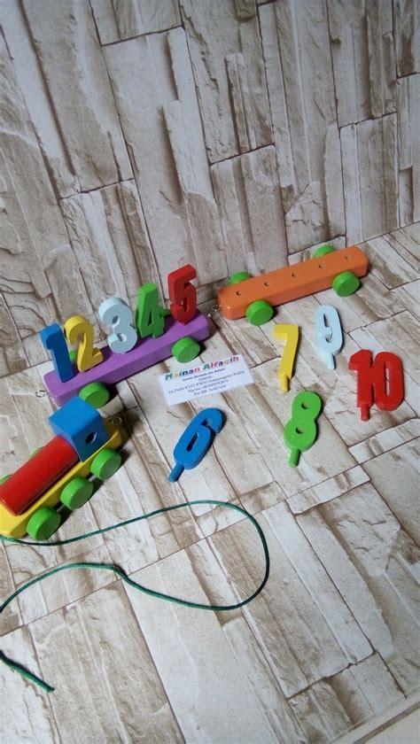 jual mainan edukasi mainan anak mainan kayu kereta angka murah di lapak mainanalfaqih