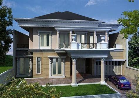 model desain rumah gaya eropa minimalis  klasik
