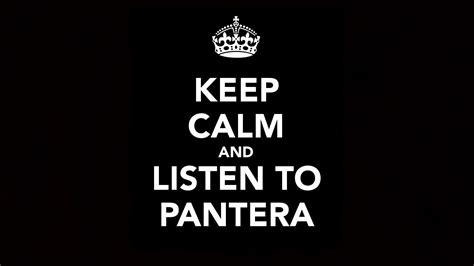 calm  listen  pantera wallpaper  background