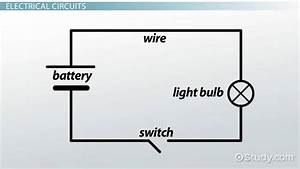 Electric Circuit Diagrams  Lesson For Kids