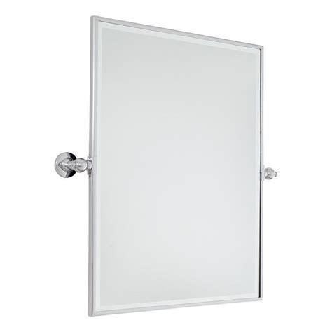 Tilt Bathroom Mirror Rectangular rectangular tilt bathroom mirror available in 3 colors