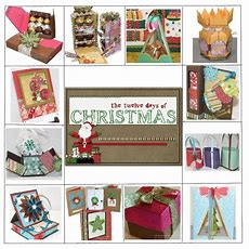 12 Days Of Christmas Craft Tutorials (second Edition)  Jinkys Crafts