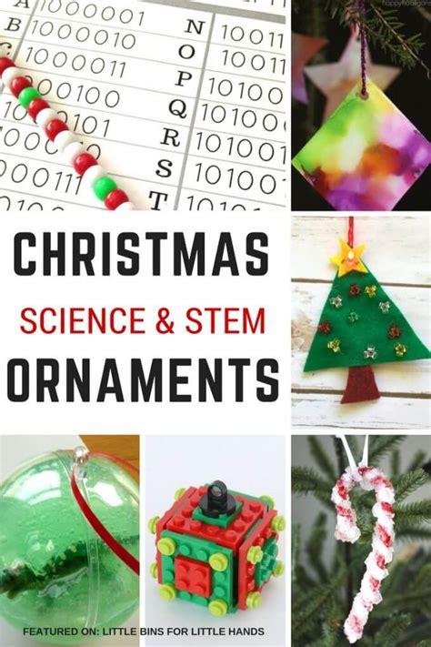 christmas tree steam craft  bins   hands