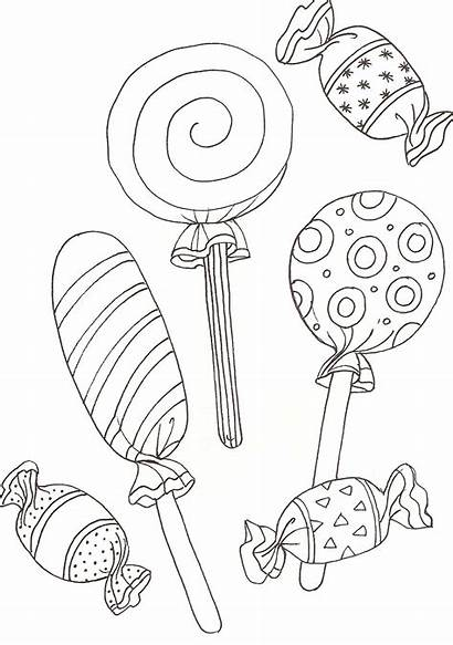 Coloring Lolly Popular Lollipop