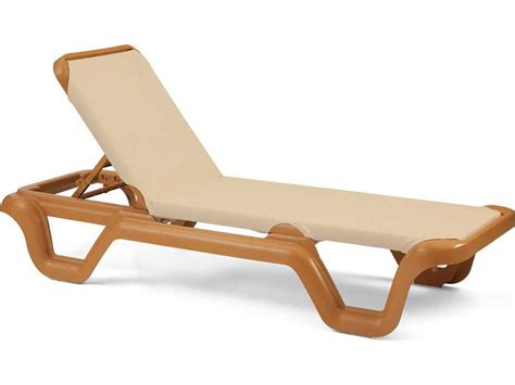 chaise solde grosfillex marina resin teakwood chaise sold in 2 us414108