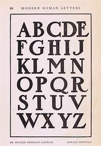 antique alphabet font from early 190039s knick of time With antique alphabet letters