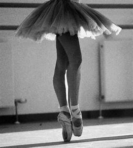 ballet, ballet shoes, black and white, girl - image ...