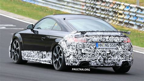 Spied Audi Facelift Spotted Nurburgring