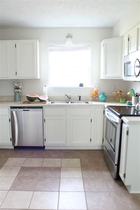 dover white kitchen cabinets refresh restyle