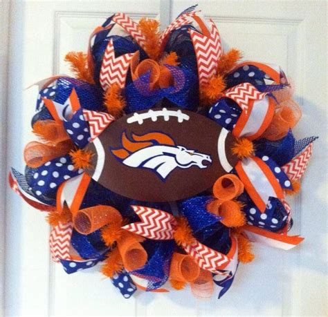 Football Wreath Decorations - a personal favorite from my etsy shop https www etsy