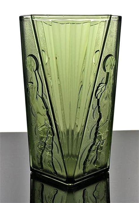 Le Deco Ebay by 2578 Rare Belgian Art Deco Glass Vase Quot Le Basketteur Quot Val