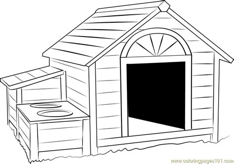 huge dog house coloring page  dog house coloring pages coloringpagescom