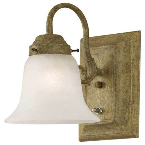 westinghouse 66490 1 light cobblestone wall bracket