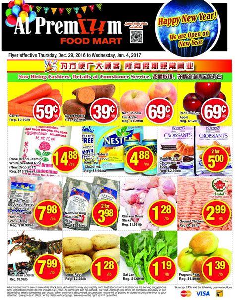 premium cuisine al premium food mart canada flyers